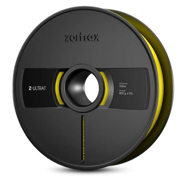 Zortrax Z-ULTRAT filament Yellow 800g