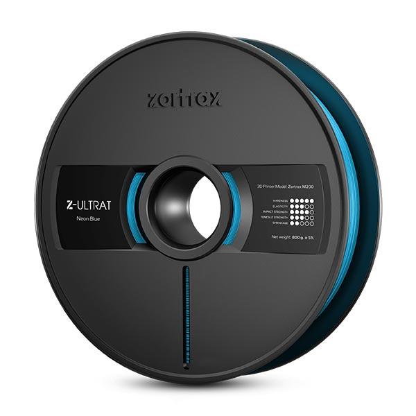 Zortrax Z-ULTRAT filament Neon Blue 800g