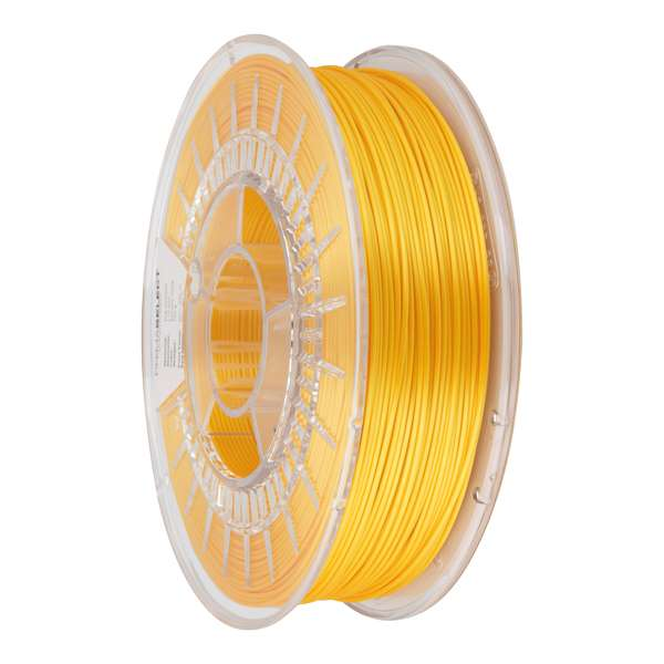 Glossy PLA filament Ancient Gold 1.75mm 750g - PrimaSelect