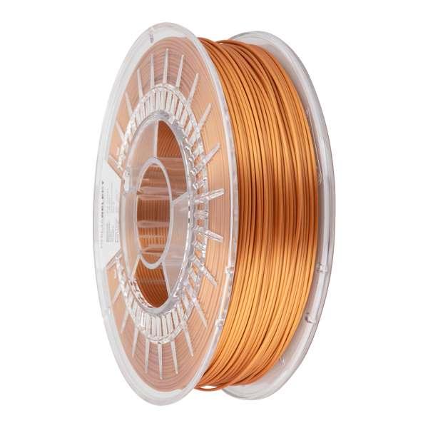 Glossy PLA filament Antique Copper 1.75mm 750g - PrimaSelect
