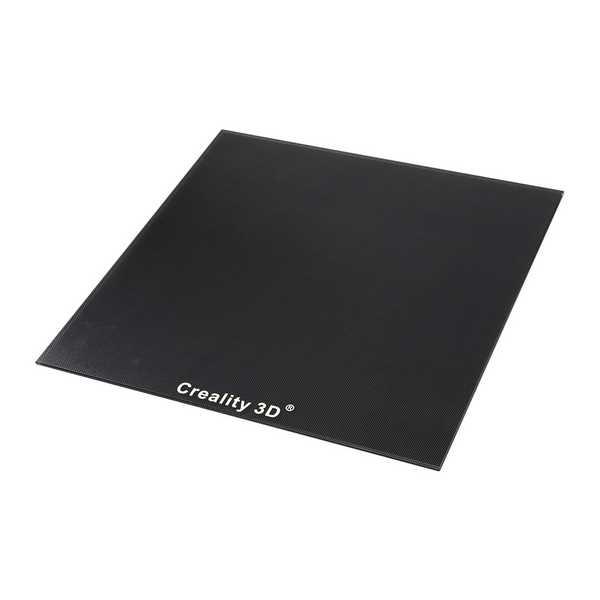 Creality 3D CR-10S Pro V2 - Steklena plošča s posebnim kemičnim premazom 310 x 320 mm