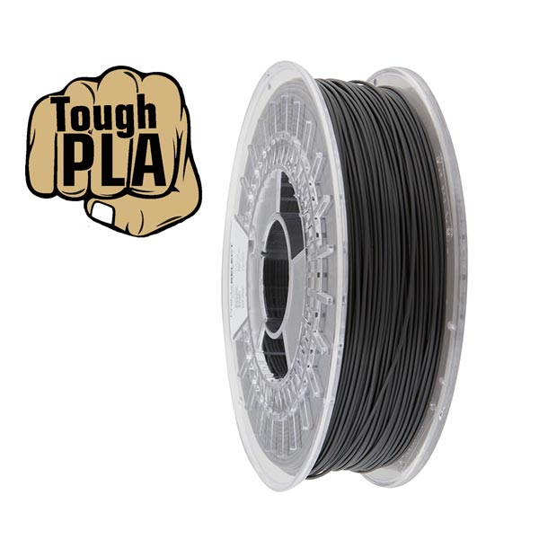 Tough PLA filament Dark Grey 1.75mm 750g