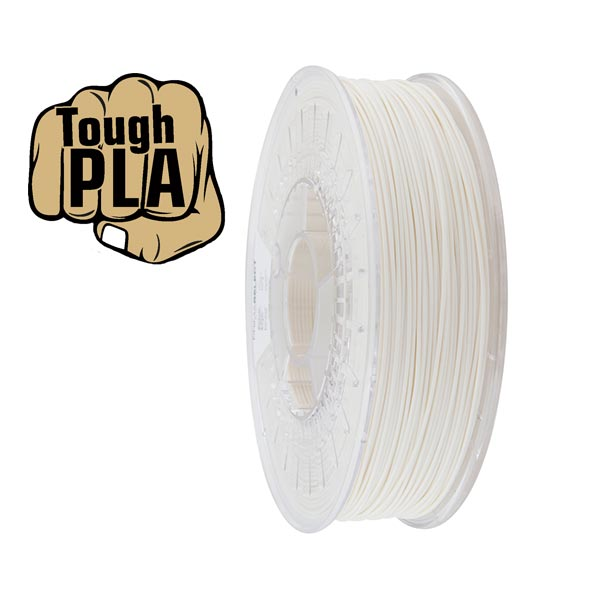 Tough PLA filament White 1.75mm 750g