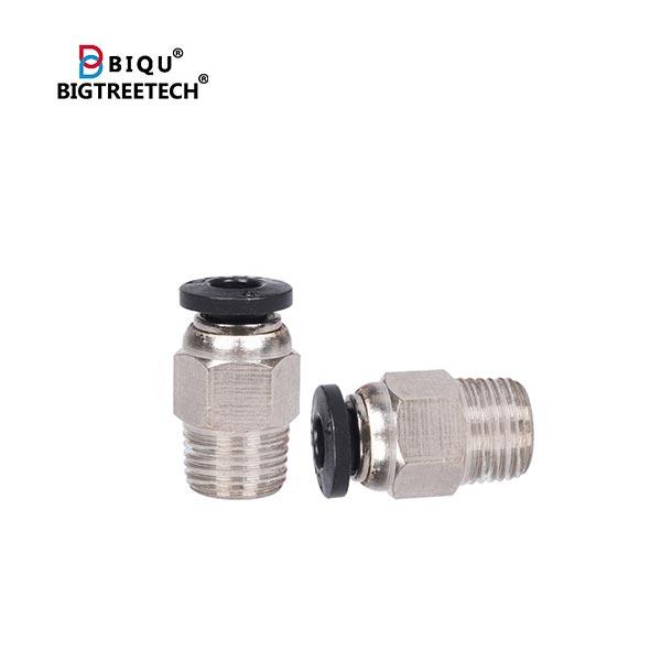 BIQU 3D B1 Bowden Tube Push Fitting V6 PC4-01