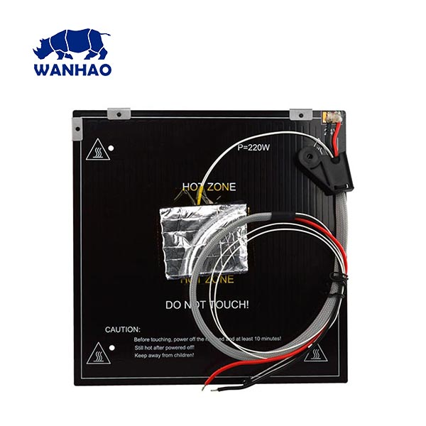 Wanhao D12 - 230 - Heating Plate 235 x 235 mm