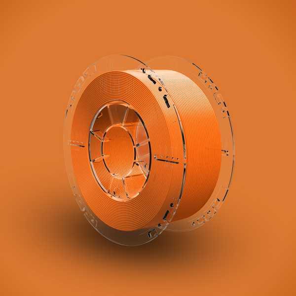 3Dshark PETG filament Orange Glass 1000g 1.75mm