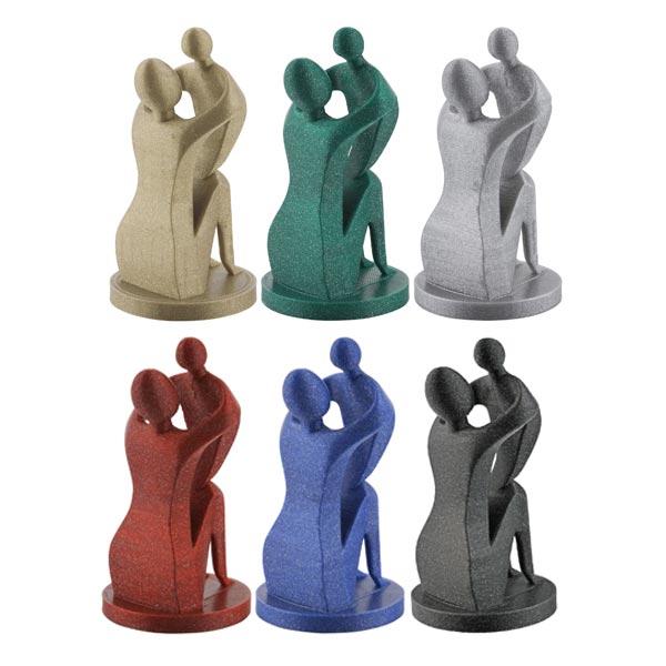 Metallic PLA filament PACK 1.75mm 6x250g