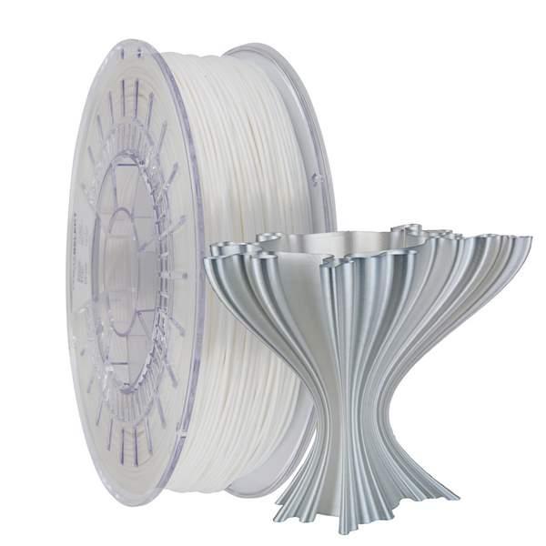 Satin PLA filament Satin White 1.75mm 750g