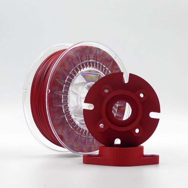Carbonio Nylon filament Red 1.75mm 750g
